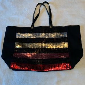 NWOT VS Large Sequin Tote